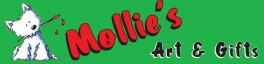 Mollie's Art and Gifts logo
